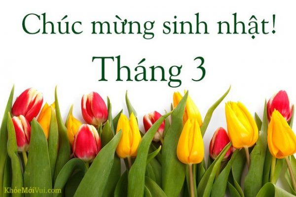 Chuc Mung Sinh Nhat Thang 3