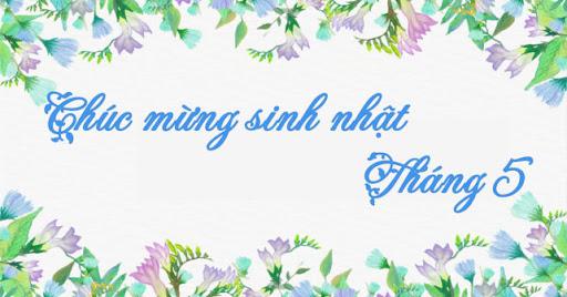 Chuc Mung Sinh Nhat Thang 5