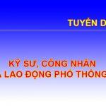 Tuyen Dung Ky Su Cong Nhan Ldpt