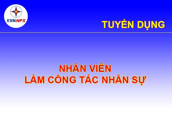 Tuyen Dung Nhan Vien Cong Tac Nhan Su